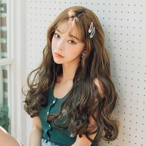 Tangled Human Hairpiece (Shape memory human hair) <br> Blee Wave 5 Piece 45cm